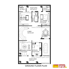 house plan of 30 feet by 60 feet plot 1800 squre feet built area on 200 yards plot