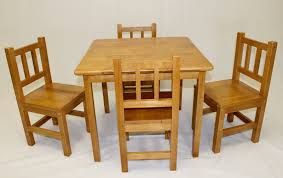 Table Set For Kids Children Table And Chairs Kids Table And 2 Chairs Set Wooden