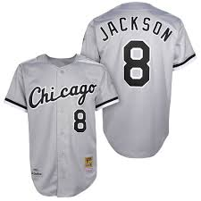 Grey Sox White Jersey Chicago