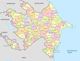 Datei:Azerbaijan, administrative ...
