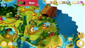 Angry Birds Epic - Does anyone know how to get this chest? Its behind the  flag and everytime i try to click it, it just shows the level instead. :  angrybirds