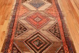 beautiful antique kurdish persian rug runner  by nazmiyal