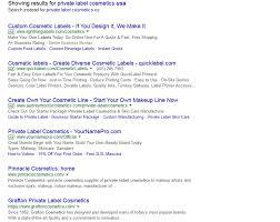private label cosmetics google search