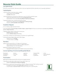 Sample Resume With Associates Degree Listed