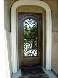 single front doors. Wonderful Front Wood Front Doors With Wrought Iron  Get Single Door Entry  On G