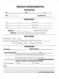 Form Employment Verification Form Employee Form1 Png S Employee