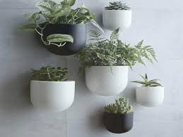 ceramic wall planter planters outdoor uk nz spanish