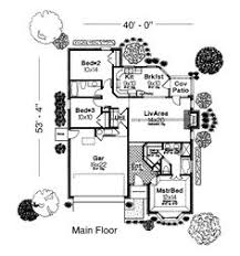 1363 sq ft first floor of plan id 41270