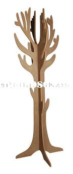 Wooden Tree Coat Rack