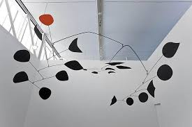 this quote included in the press release from the gallery ilrates calder s thinking about scale and how the size along with the material steel