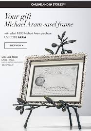 your gift michael aram easel frame