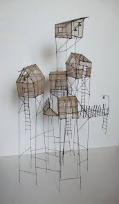 get students to recreate iconic arcitecture in wire and waxed rice paper image inspiration sculpture by isabelle bonte