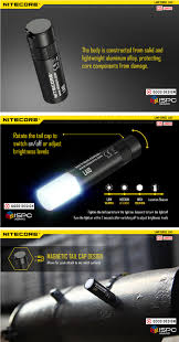 Nitecore La10 Xp G2 S3 4modes Magnetic Tail Maintenance Light