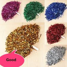 2pcs Large <b>Cheerleading</b> Pom Poms <b>Aerobics</b> Show Dance Hand ...