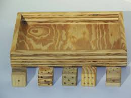Old Fashioned Wooden Games Wooden dice dice tray old fashioned dice oversized dice 13