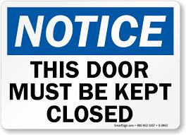 please lock door sign. Zoom, Price, Buy Please Lock Door Sign