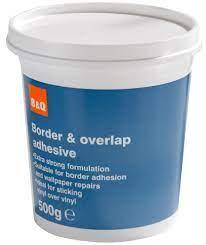 B&Q Overlap & Border Adhesive 500G
