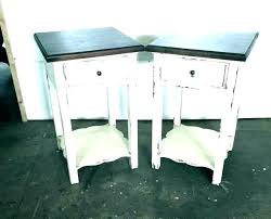 full size of antique white round accent table console with drawers pedestal dining distressed end tables