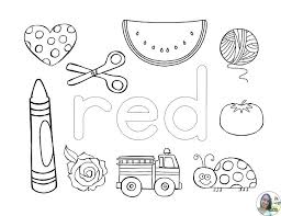 learning colors coloring pages s ing s learning colors coloring pages for preschool
