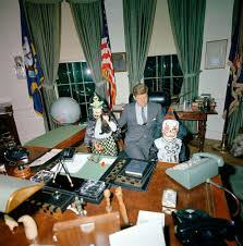 john f kennedy oval office. John F Kennedy Oval Office. President F. Visits With His Children, Office