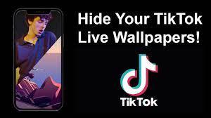 How to hide your TikTok Live Wallpaper ...