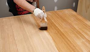 Diy wooden furniture Woodworking Projects Person Applying Varnish To Table With Paint Brush Bunnings Warehouse How To Restore Wooden Furniture Bunnings Warehouse