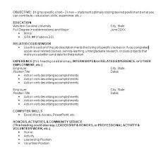 Activity Resume Templates Template Design Word Activity Resume Templates Extracurricular