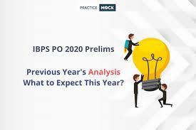 ibps po 2020 prelims previous year s