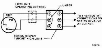 room thermostat wiring diagrams for hvac systems 3 wire high limit honeywell t87f thermostat wiring diagram