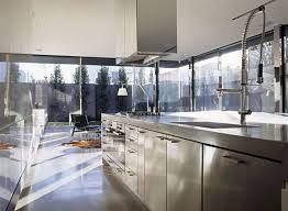 Stainless Steel Kitchen Furniture Stainless Steel Kitchen Design Miserv