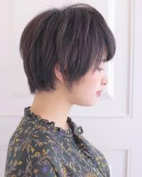 ショート 黒髪 かっこいい ボーイッシュ Reina 432815hair