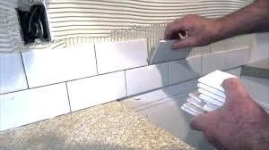 Installing Glass Mosaic Tile Backsplash Unique Decorating Design