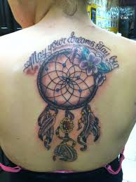 Meaning Of Dream Catcher Tattoos Collection of 100 Rose Dream Catcher Tattoo On Right Shoulder Back 89