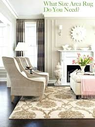 what size rug for living room what size area rug do you need rug size with