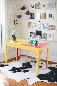office desk w color infused epoxy top click for more details abm office desk diy