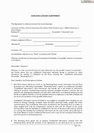 Intellectual Property Nda Template Free Financial Non Disclosure Agreement Nda Template Pdf Word Format