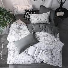 bedding set duvet cover sets marble