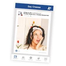 facebook style selfie frame