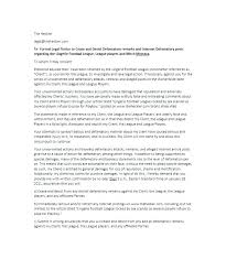 Cease And Desist Letter Template Awesome Cease And Desist Letter Harassment Template Juanmarinco