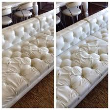 white couch cleaner how to clean a white leather sofa how to clean white leather