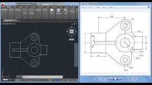 Cool Autocad Designs 2d Autocad Practice Drawing