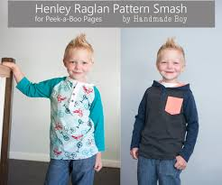 Peek A Boo Patterns Awesome Ultimate Pattern Smash Up The Henley Raglan PeekaBoo Pages