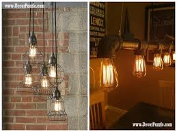 industrial style kitchen lighting. industrial kitchen style chic decor lighting