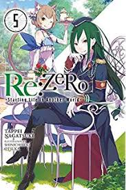 re zero starting life in another world vol 5 light