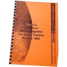 deutz tractor ebay Deutz Allis 1920 Wiring Diagram new deutz (allis) d4006 tractor manual (wiring diagram only) Snow Thrower Deutz-Allis 1920