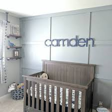 10 nursery wall letters nursery decor