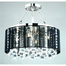 crystal chandelier with black drum shade drum shade crystal chandelier crystal chandelier with black drum shade