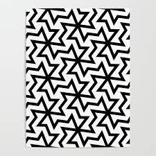 Arabic Pattern Geometric Arabic Pattern Poster By Patternmaker