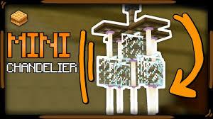 Minecraft Chandelier Design