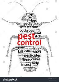 pest control word cloud stock vector shutterstock pest control word cloud